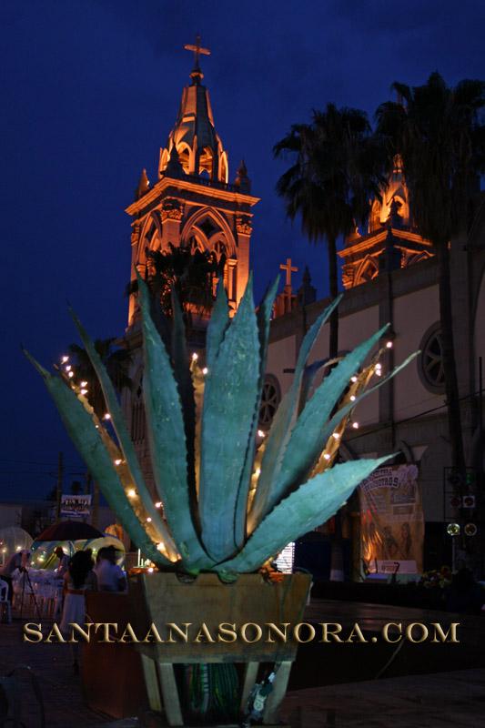 Santa Ana Fiestas in Plaza Zaragoza
